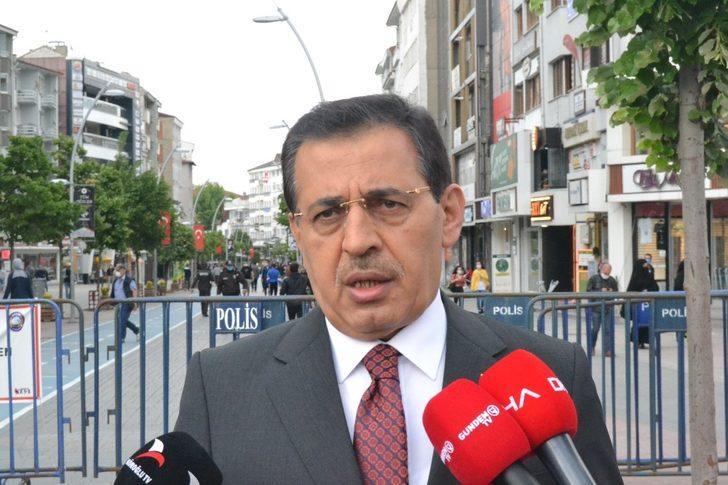 Bolu Valisi Ahmet Ümit, gün gün koronavirüs vaka sayılarını açıkladı