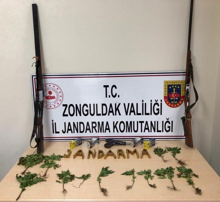 Kdz. Ereğli'de jandarmadan uyuşturucu operasyonu