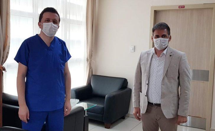 HAK-İŞ'ten Niğde Hastanesi doktorlarına teşekkür