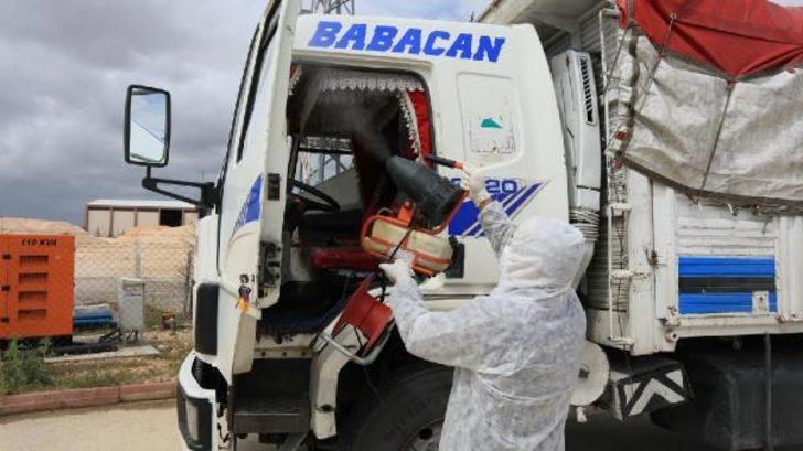 Eskişehir'de kamyon sürücüsü, koronavirüs şüphesiyle hastaneye kaldırıldı