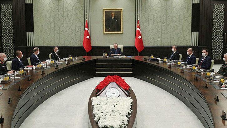 Son dakika: Erdoğan başkanlığındaki MGK toplantısı sona erdi