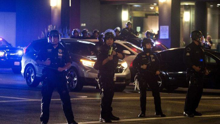 Los Angeles'ta Polis Teşkilatı'nın Bütçesi Arttırılmayacak