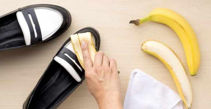 Muz kabuklarını sakın çöpe atmayın! Faydası saymakla bitmiyor! Ayakkabı parlatırken...