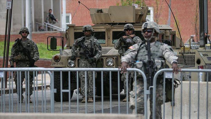 Pentagon'dan yeni hamle! Washinton'daki askerlere emir gönderildi