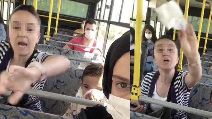 İzmit'te halk otobüsünde akılalmaz kavga! Küfredip, saldırdı