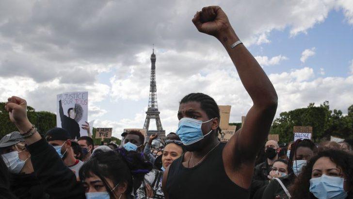Fransa'da Polis Şiddetine Karşı Eylemler