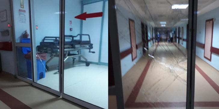 4 yaşındaki çocuğun ölümü sonrası hastaneyi savaş alanına çevirdiler
