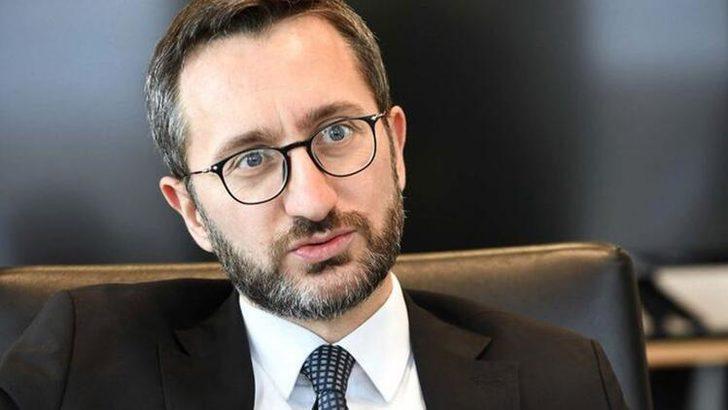 İletişim Başkanı Altun'dan 'Bizans Bayrağı' tepkisi