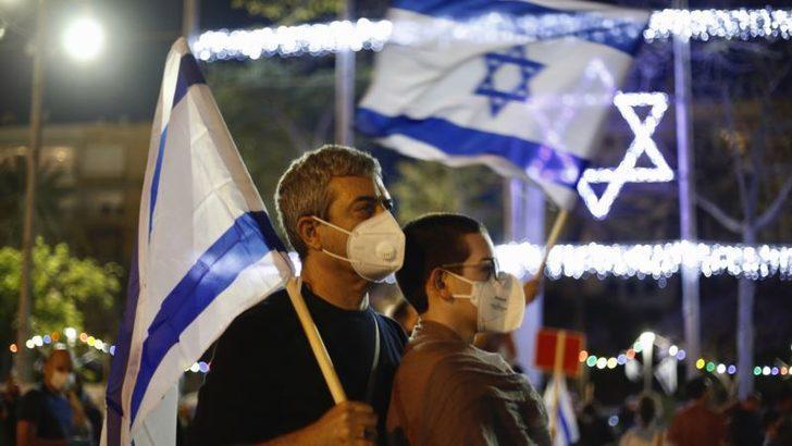 İsrailliler Başbakan Netanyahu'nun Filistin'de İlhak Planını Protesto Etti