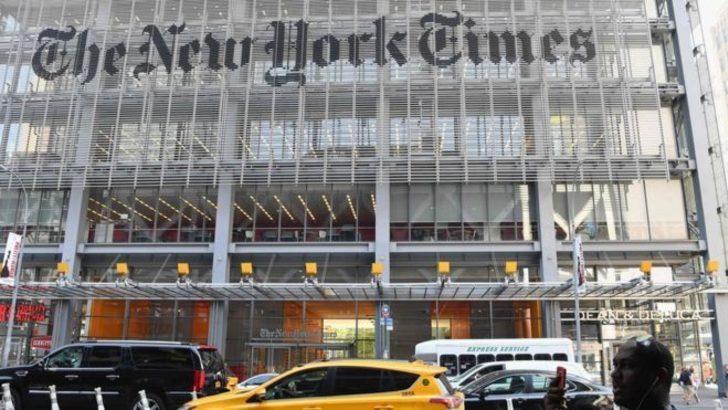 George Floyd gösterileri New York Times'ı sarstı: Yorum sayfasının editörü istifa etti