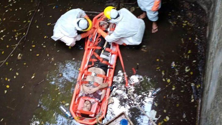Kuyuda mahsur kalan İngiliz turist 6 gün sonra kurtarıldı!