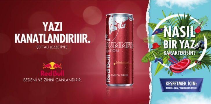 Red Bull'dan yaza özel yeni lezzet
