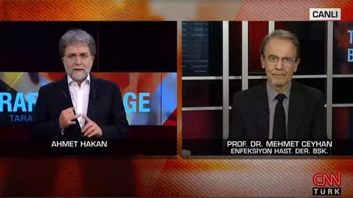 Prof. Dr. Mehmet Ceyhan'dan canlı yayında uyarı: Dünyada ikinci artış yaşanıyor