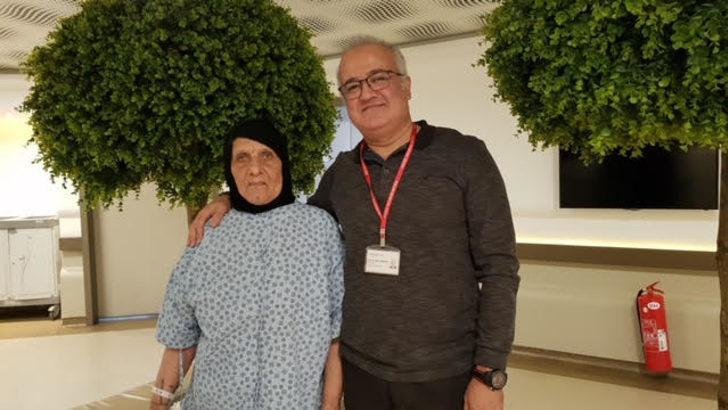 82 yaşındaki Iraklı hasta akciğer kanserini Türkiye'de yendi