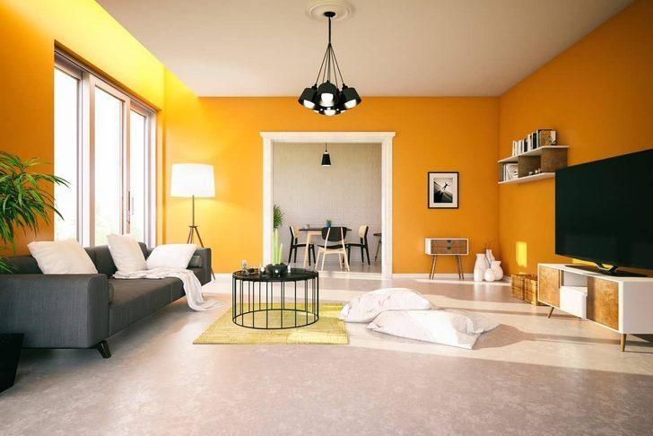 Evin rengi ruh halini etkiliyor! O renk sinir ve öfkeye sebep oluyor...