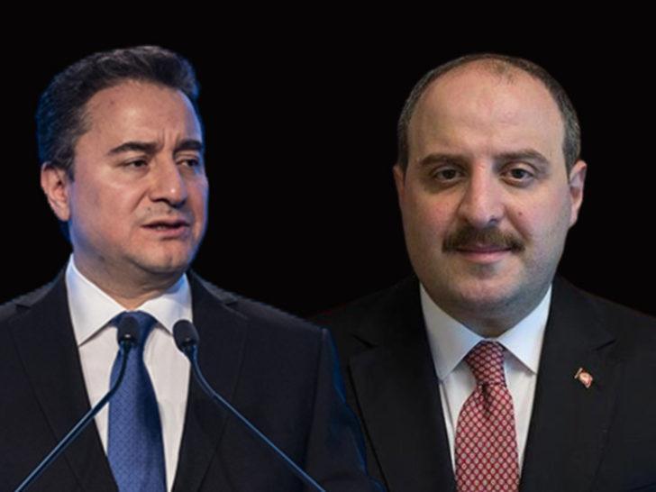 Bakan Mustafa Varank'tan Ali Babacan'a sert tepki!
