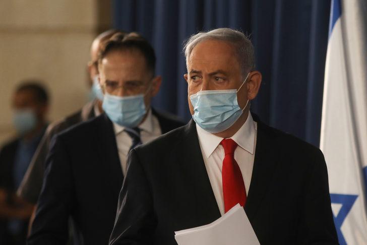 Netanyahu'nun 3 korumasında koronavirüs tespit edildi