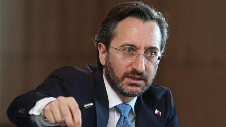 İletişim Başkanı Altun'dan, 'Pençe-Kartal Operasyonu' açıklaması