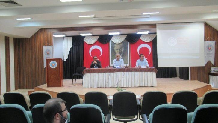 LGS bilgilendirme toplantısı yapıldı