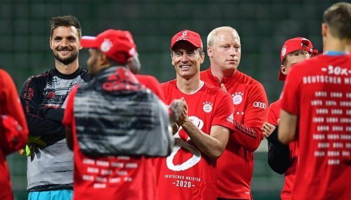 Bayern Münih, Bundesliga'da sekizinci kez ard arda şampiyon oldu