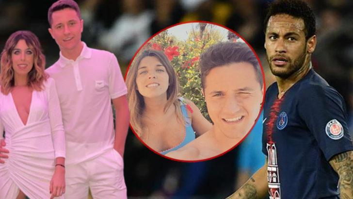 Partiye eşiyle giden Ander Herrera: Neymar herkesi gruba ayırdı