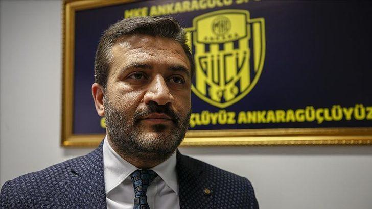Ankaragücü Başkanı Fatih Mert'ten sert açıklama: Emeklerimize yazık oldu