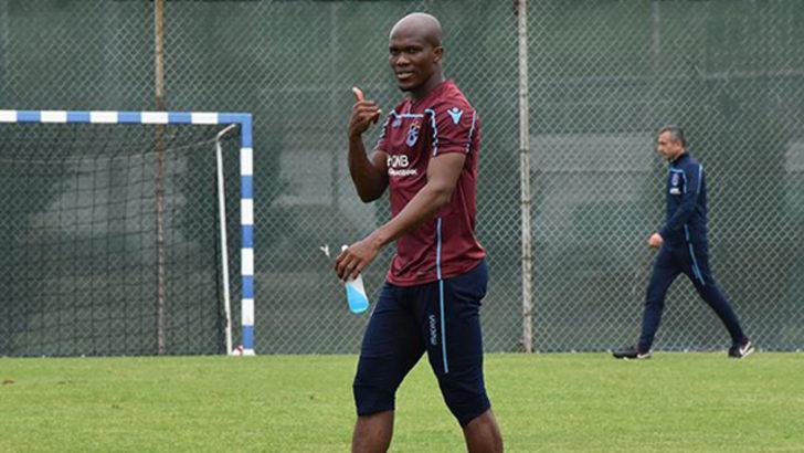 Trabzonspor'un yıldızı Nwakaeme Galatasaray derbisinde yok