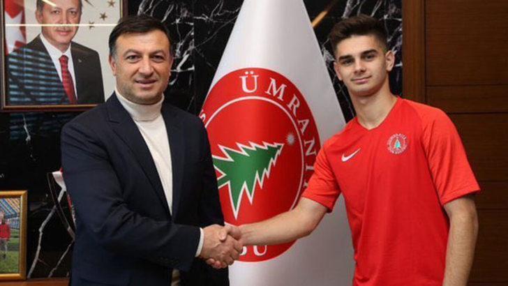 Beşiktaş'ın Ümraniyespor'a kiraladığı Ajdin Hasic'ten müthiş gol