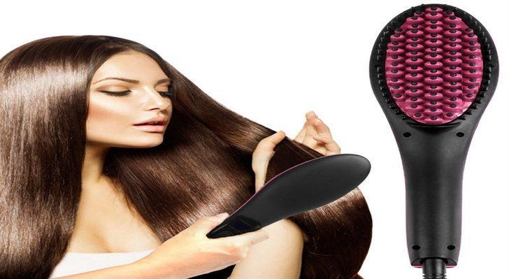 Saç Düzleştirici Tarak Gerçekten İşe Yarıyor mu? Kullananların Yorumları
