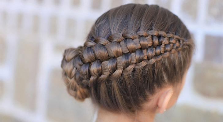 Çocuklar için 29 kolay saç örgüsü modeli