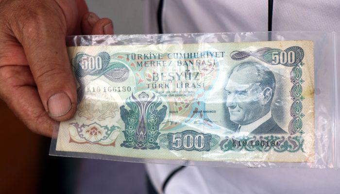 Eski paraların değeri dudak uçuklatıyor! Az bulunan 500 lira 3 bin TL -  Finans haberlerinin doğru adresi - Mynet Finans Haber