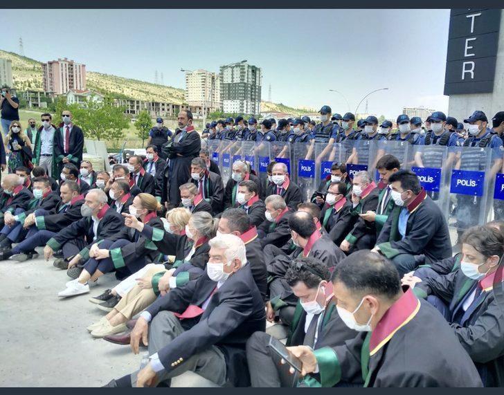 Baro başkanlarının Ankara'daki yürüyüşüne izin çıktı! Alana gelen Metin Feyzioğlu'na şok tepki