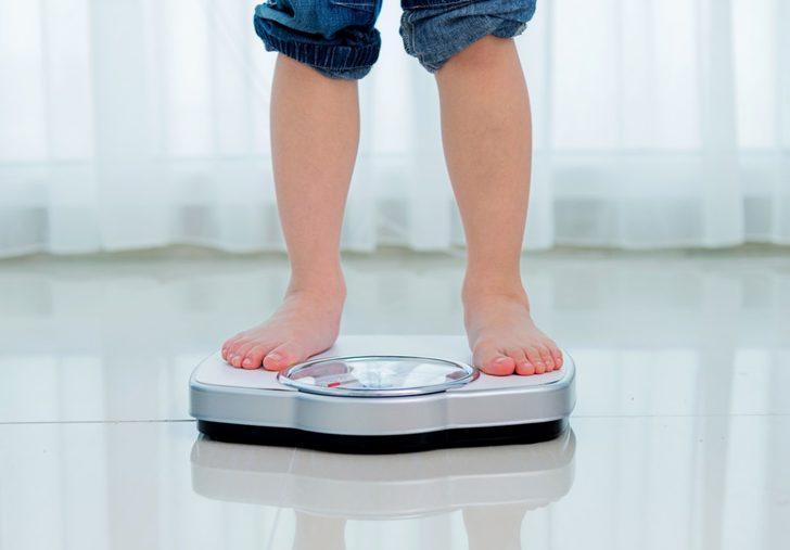 1-10 yaş arası çocuklarda normal boy-kilo endeksi