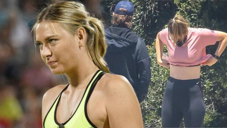 Maria Sharapova'nın yeni stili herkesi şaşırttı