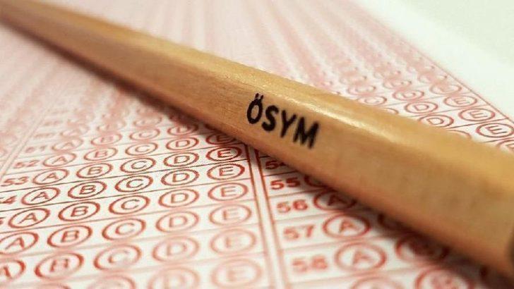 ÖSYM sınav takvimi: 2020'de yapılacak sınavlar