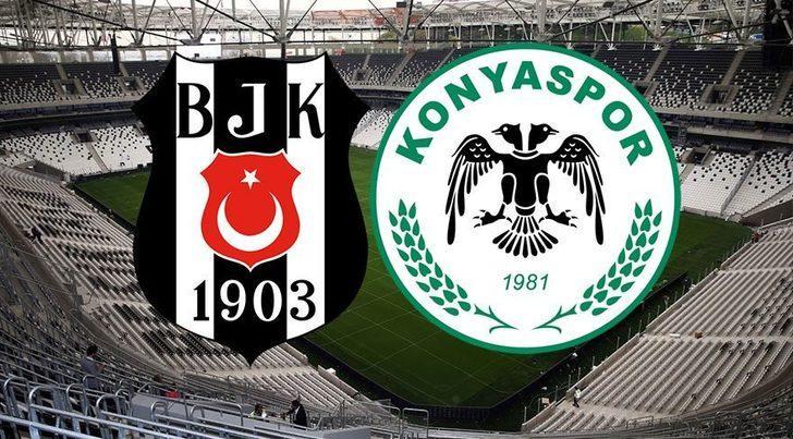 Beşiktaş - Konyaspor maçı ne zaman, saat kaçta, hangi kanalda?
