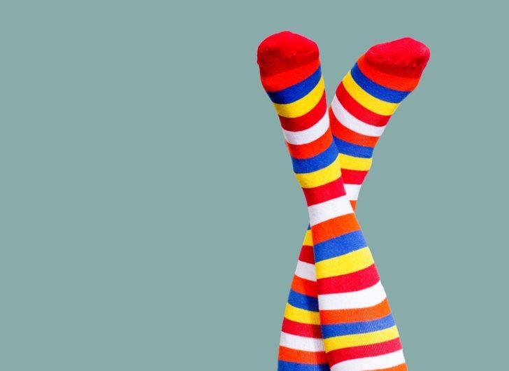 Çorap seçmenin püf noktaları