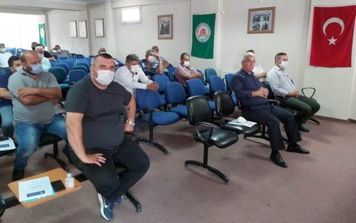 Alaşehir'de dayıbaşlarına korona virüs uyarısı