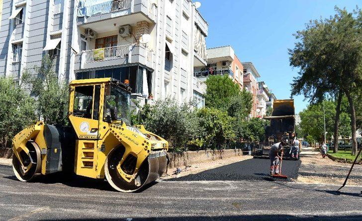 Konuksever'de 12 bin 599 metre uzunluğundaki cadde ve sokakların asfaltı yenileniyor
