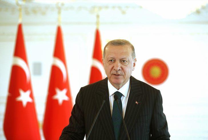Cumhurbaşkanı Erdoğan: Denizlerimizdeki hak ve çıkarlarımızı korumaya devam etmekteyiz