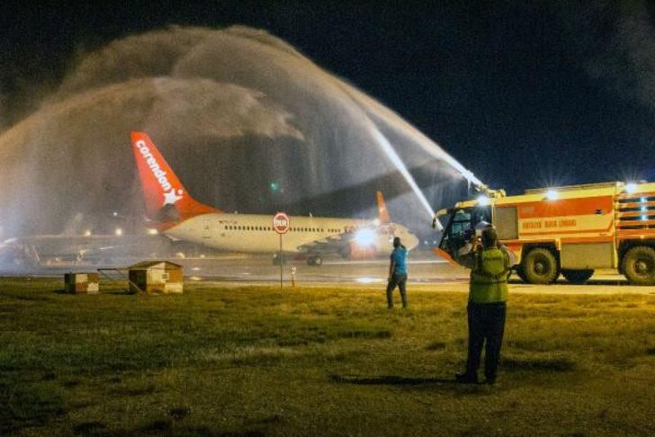 Corendon Airlines Avrupa'dan Anadolu'ya ilk yolcularını indirdi
