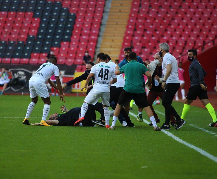 Eskişehirspor - Altay maç sonu olay çıktı