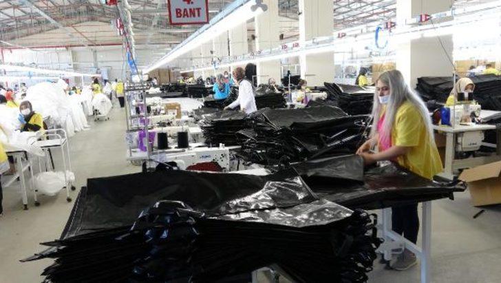 Türkiye'den Avrupa'ya ceset torbaları ve koruyucu kıyafet ihraç ediliyor