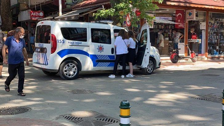 Sınava giden genç kıza ceza şoku