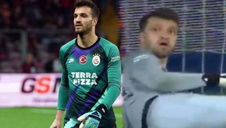 Galatasaray kalecisi Okan Koçuk'tan Başakşehir maçında büyük hata