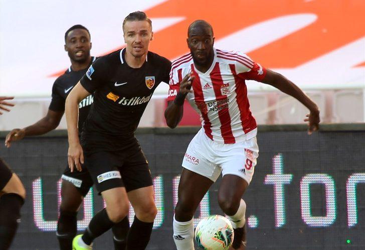 Demir Grup Sivasspor 0-2 HES Kablo Kayserispor (Maç Sonucu)