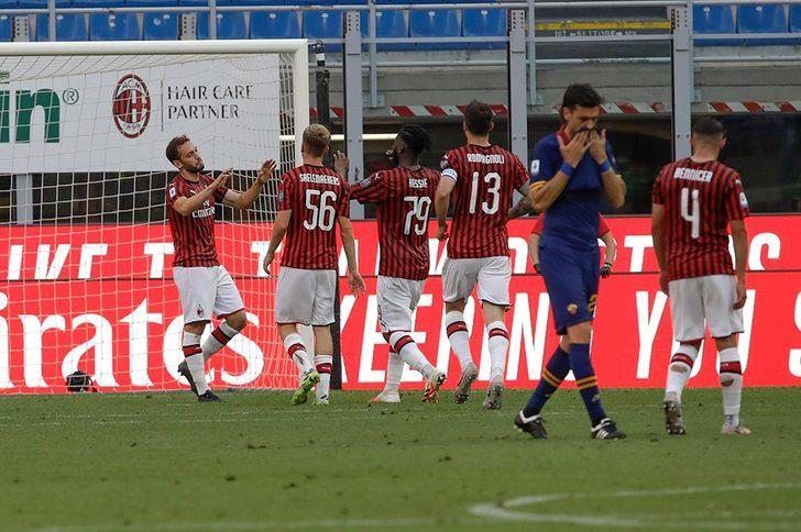 Milan 2-0 Roma (Maç Sonucu)