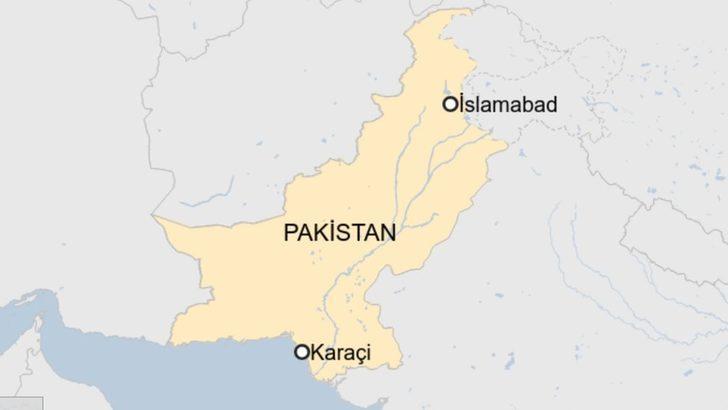 Karaçi borsa binasına saldırı!