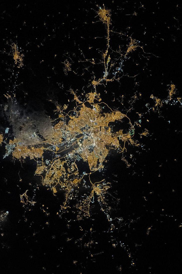 Bayrakları asma vakti: NASA Ankara'nın fotoğrafını tüm dünyayla paylaştı!