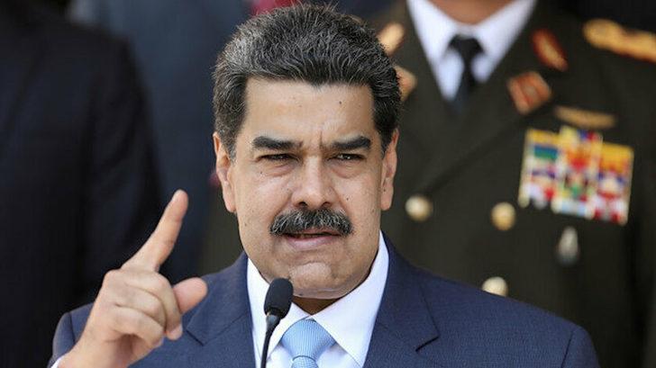 Nicolas Maduro AB Temsilcisine Venezuela'dan ayrılması için 72 saat verdi